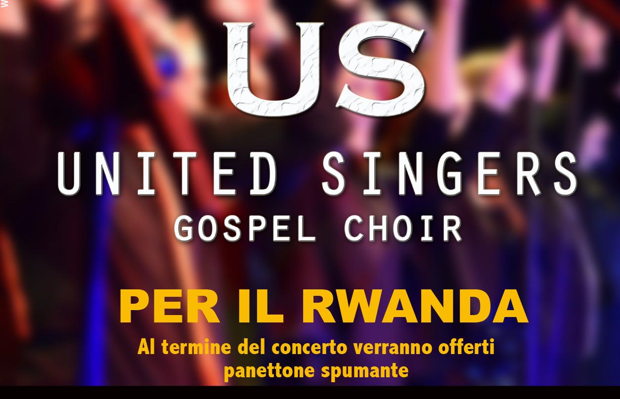 UNITED SINGERS per il RWANDA